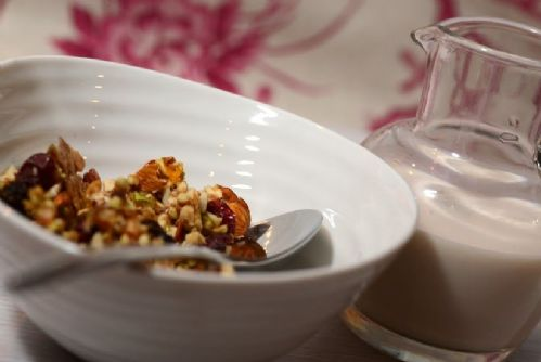 Winter Spice Granola